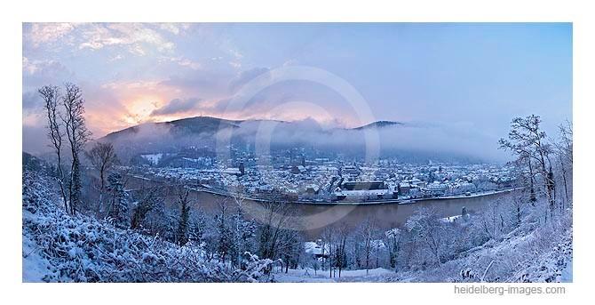 Archiv-Nr. hc 2009141 | Wintermorgen auf dem Philosophenweg