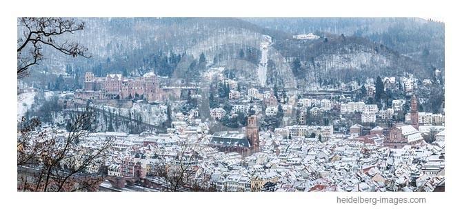 Archiv-Nr. hc2012187 | Heidelberg im Schnee