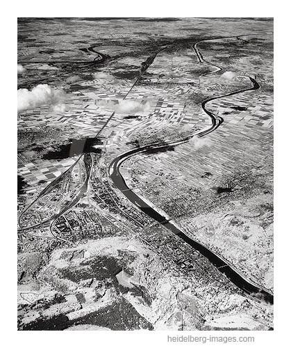 Archiv-Nr. L10_2144 / Infrarot-Luftaufnahme von Heidelberg und der Rheinebene