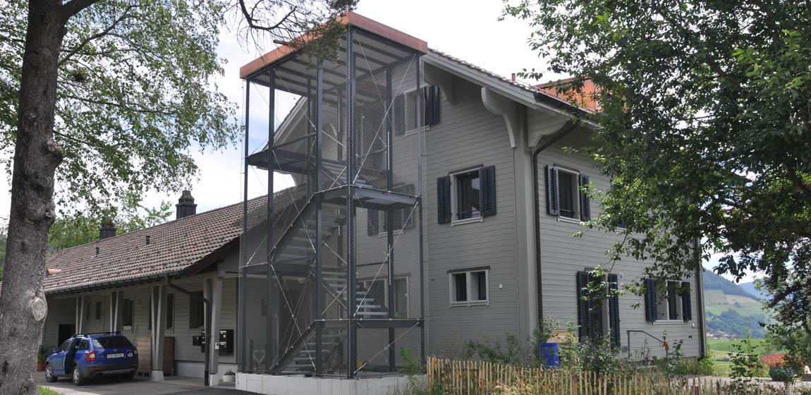 ETH-Forschungsstation Walchwil - Treppenturm