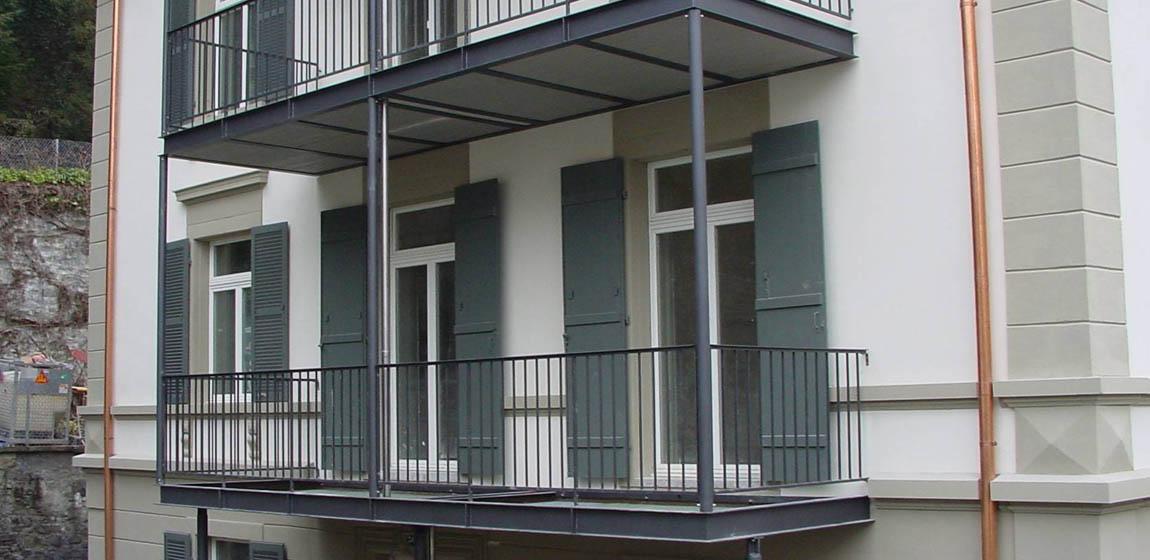 Privatobjekt in Luzern - Balkon