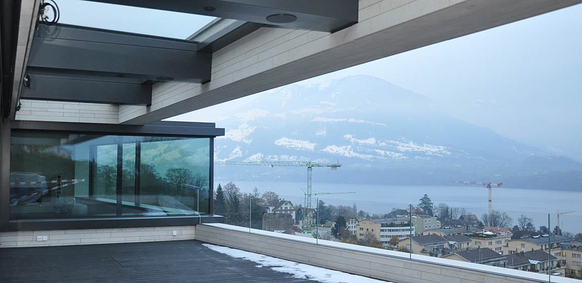 Privatobjekt in Meggen - Erkerfenster
