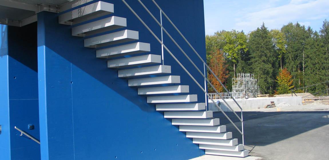 ARA in Luzern - Treppe