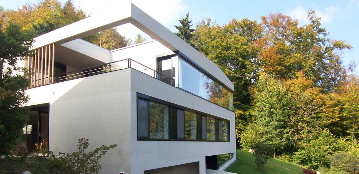 Privatobjekt in Hergiswil - Fenster in Aluminium