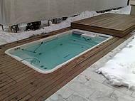 Swim Spa EP14 mit automatischer Schiebeabdeckung