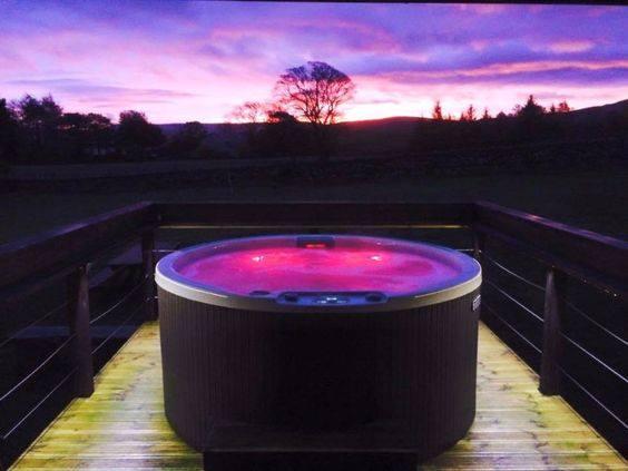 Whirlpool Hottub Farbtherapie