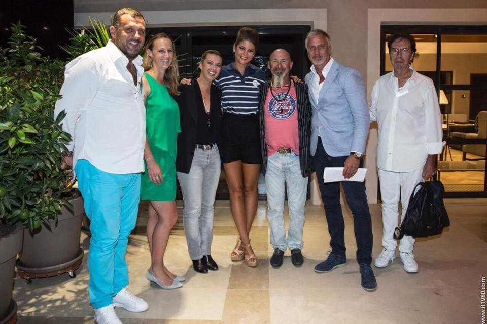 Le jury de Miss Elegance Golfe de Saint Tropez 2016 dont j'ai eu l'honneur de faire partie.
