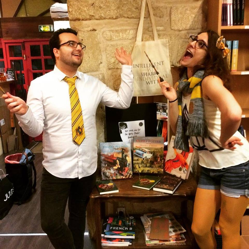 Harry Potter Book Night - The game masters