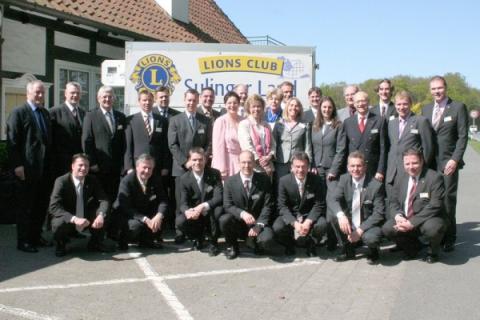 Lions Club Sulinger Land Gründungsmitglieder