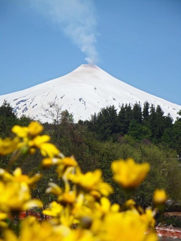 Volcano Villareal, Chile