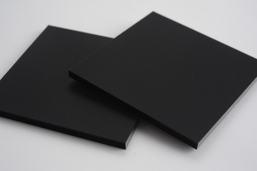 e312d5d38d0a Black Matt (1side only) - Acrylic display design production Singapore
