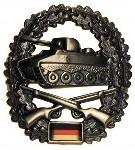 Das Barretabzeichen der Panzergrenadiere
