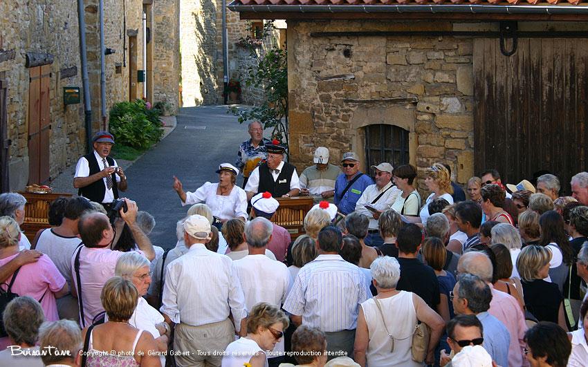 Le festival des orgues de Barbarie, Oingt