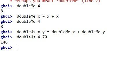 Haskell ist eine funktionale Sprache.