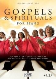 Michael Gundlach: Gospels & Spirituals, for Piano, mit CD