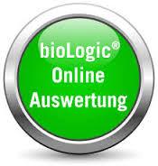 Beispielauswertung bioLogic Test