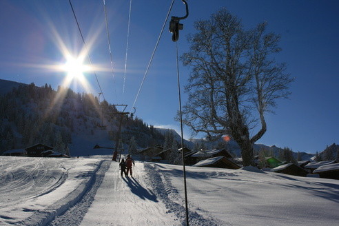 Skigebiet Axalp