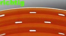 Dränagerohr für Gebäude mit richtiger Lochung Abtec