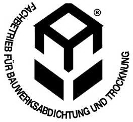 Logo Fachbetrieb für Bauwerksabdichtung und Bautrocknung
