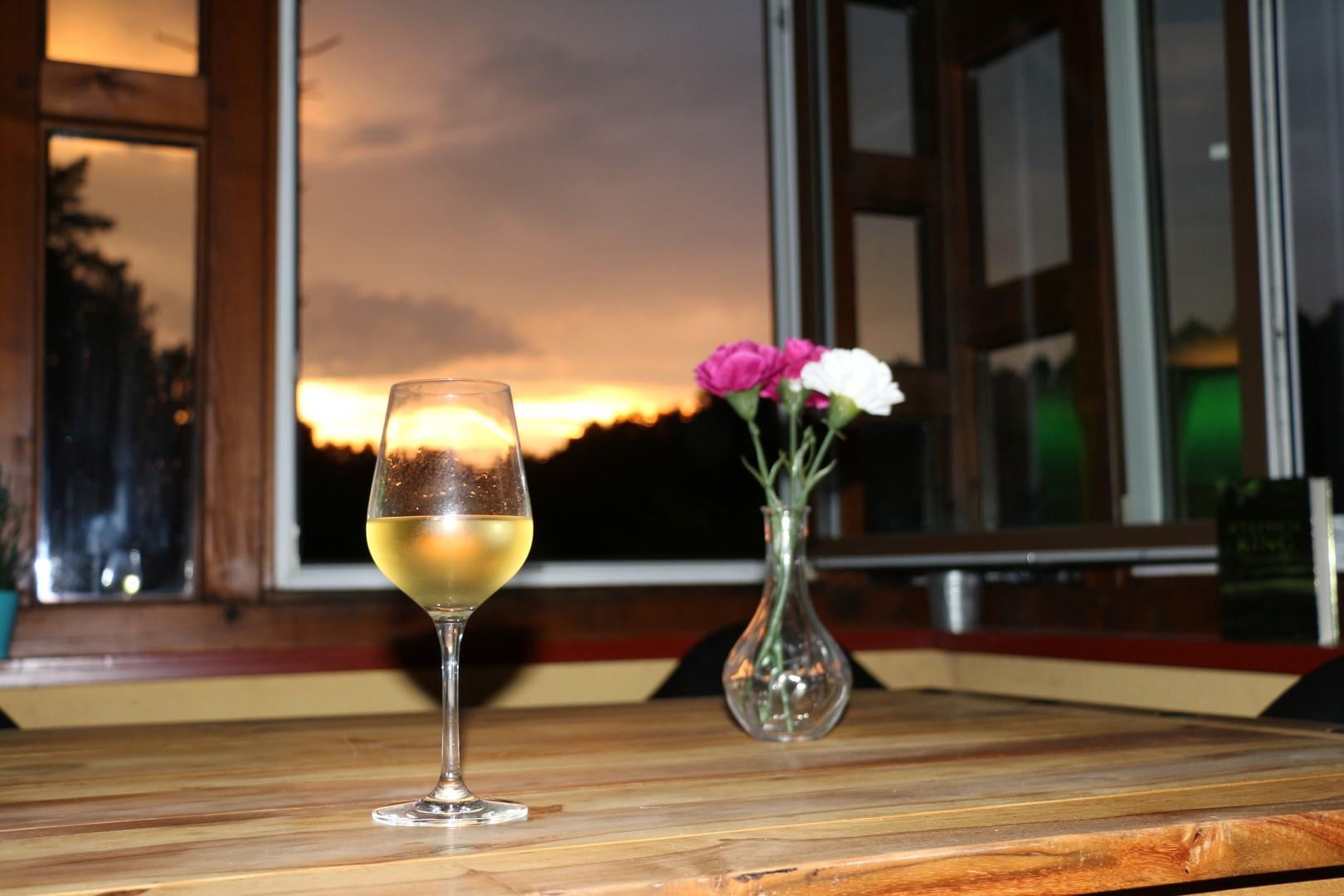 Ferienhaus Baalsee Abendstimmung