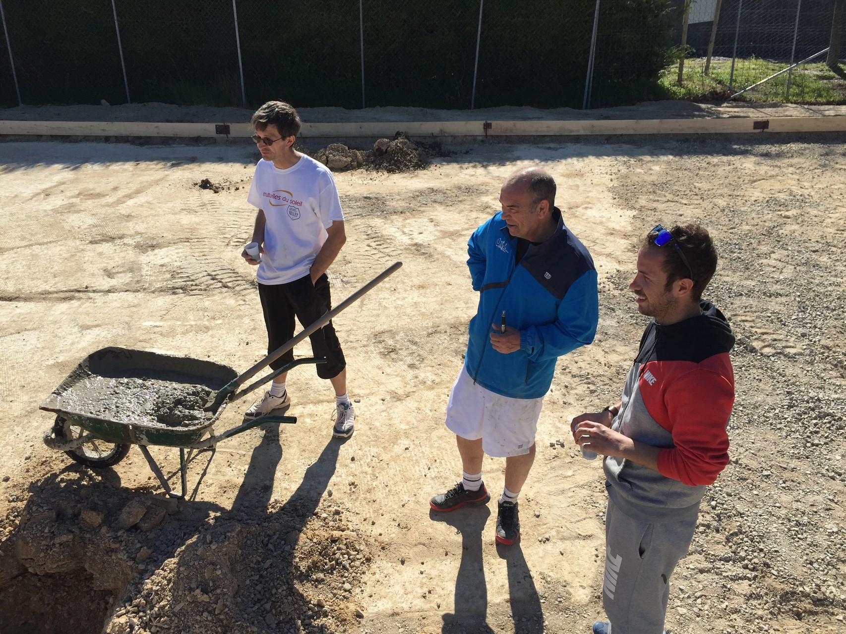 Beach tennis tennis club saint georges d 39 orques for Longueur terrain de tennis