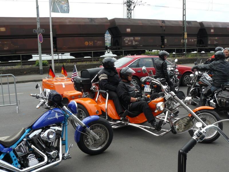 Harley-Treffen in Rüdesheim 2