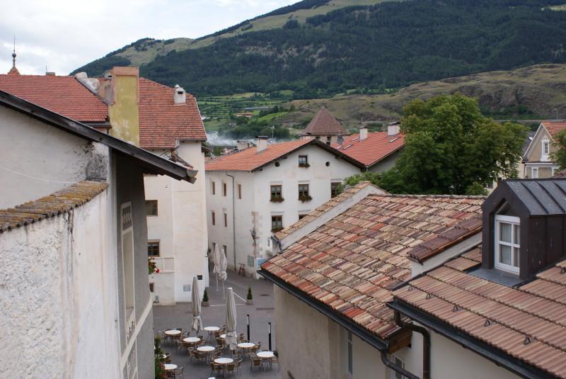Blick von der Stadtmauer.