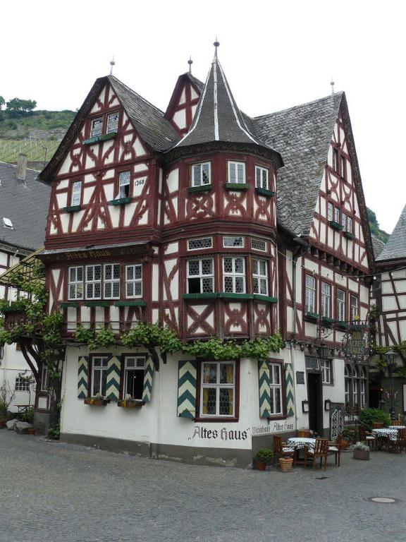 Das alte Haus in Bacharach 1