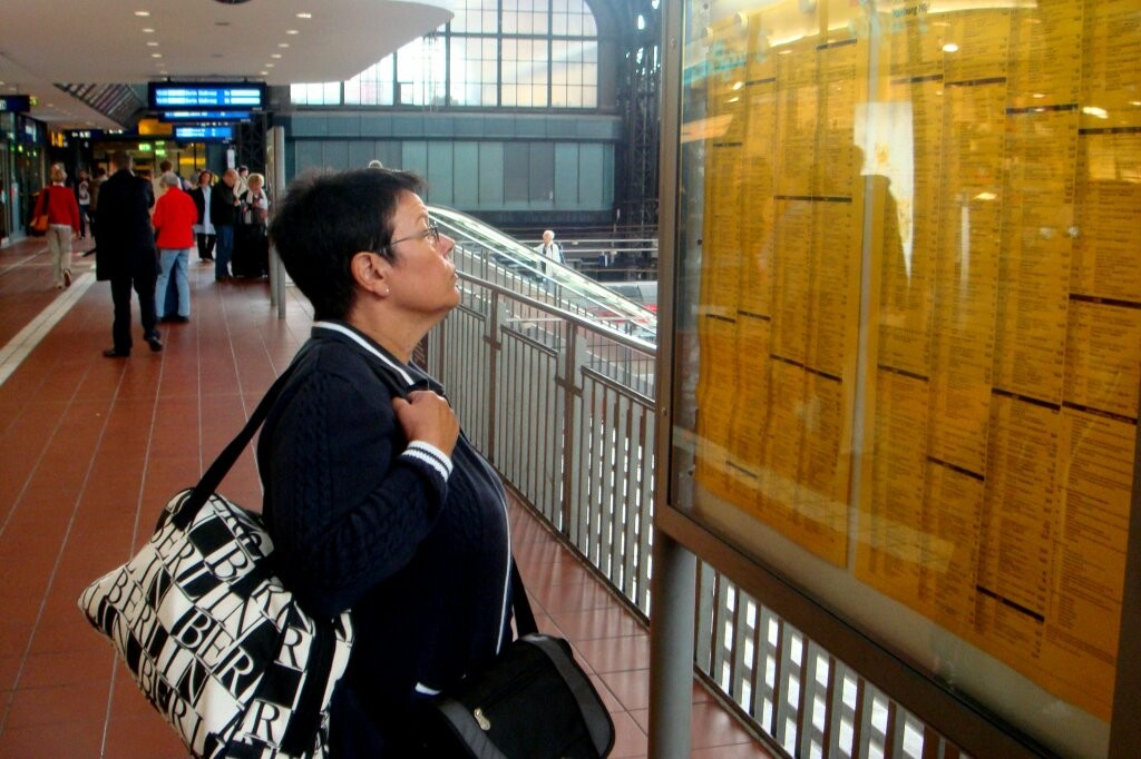 Die Reise geht weiter. Wann fährt der Zug?