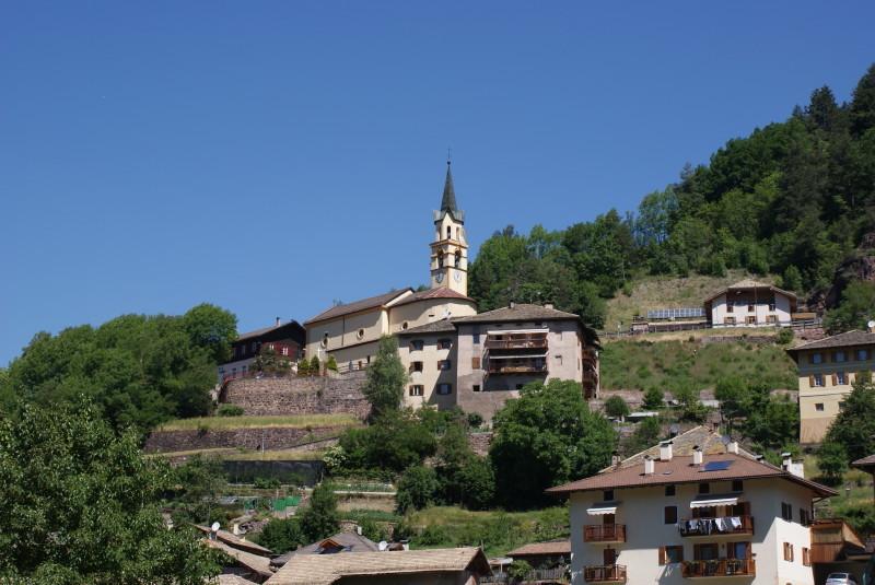 Die Kirche von Molina.