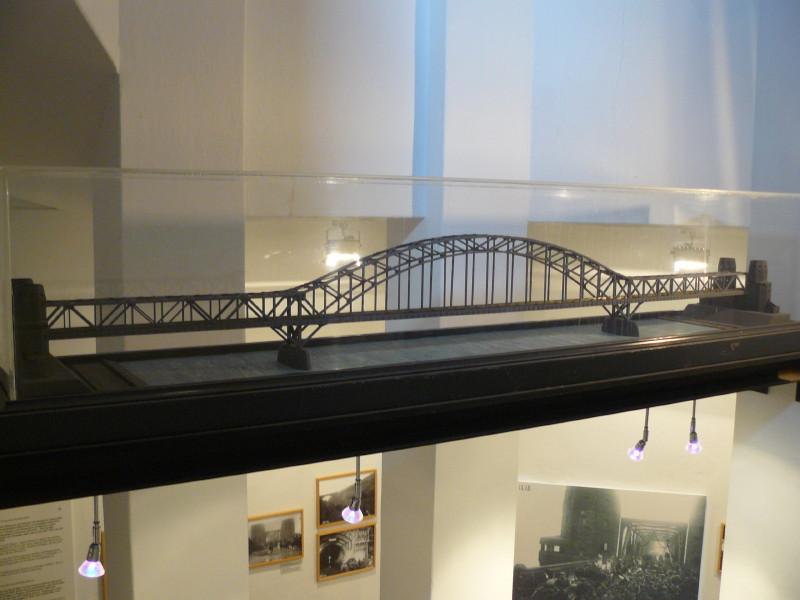 So sah die Brücke aus