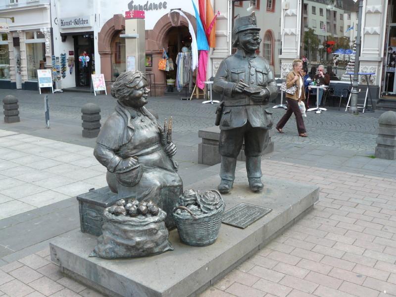 Denkmal für Marktleute