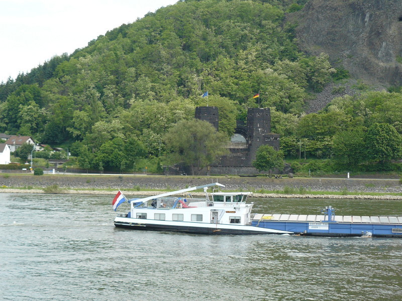 Die Brücke vom Remagen, rechtsufrig