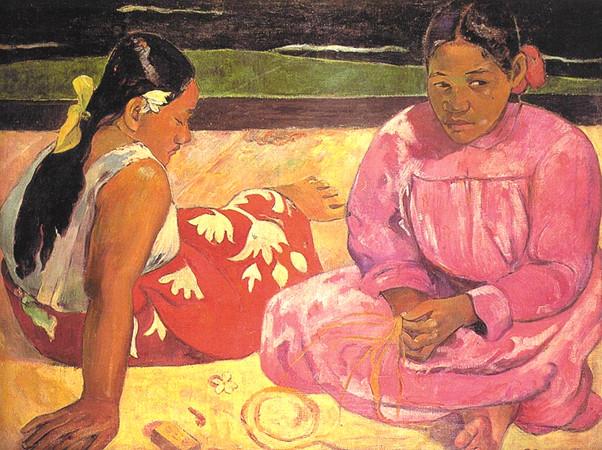 Paul Gauguin - Femmes de Tahiti ou Sur la plage, 1891