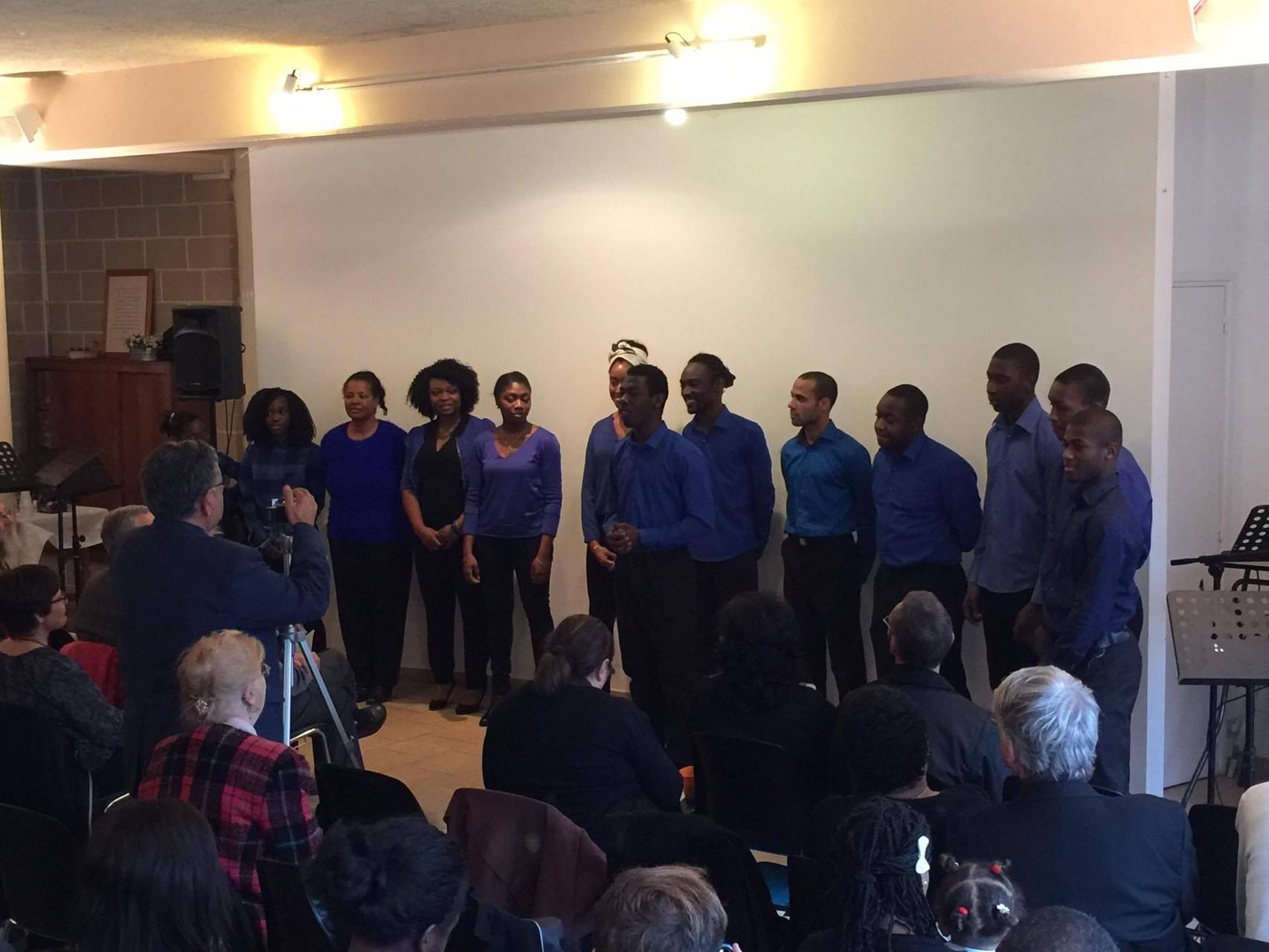 Sacrée Chorale de l'église de Paris Déodat