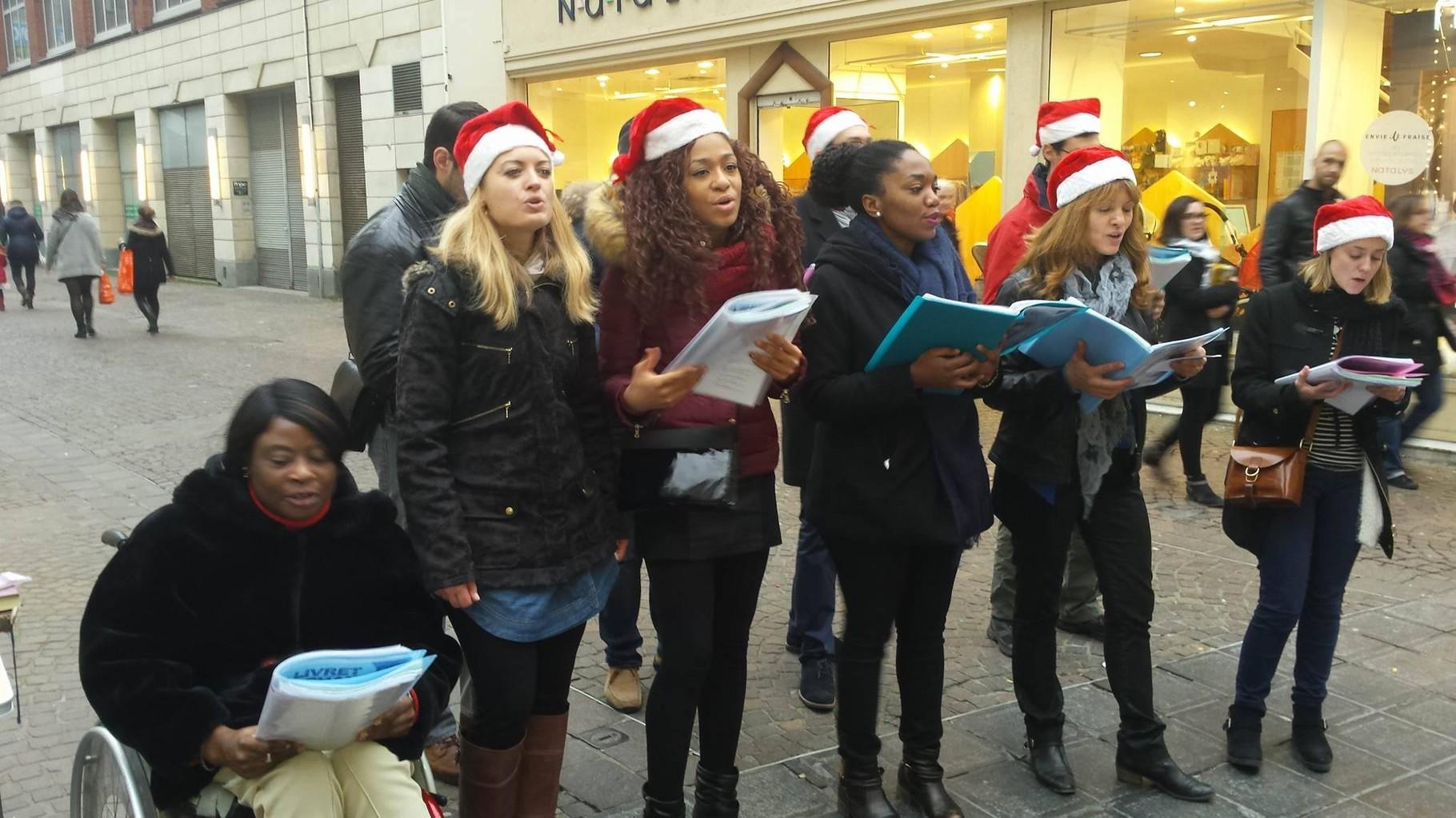 La petite chorale de Noël