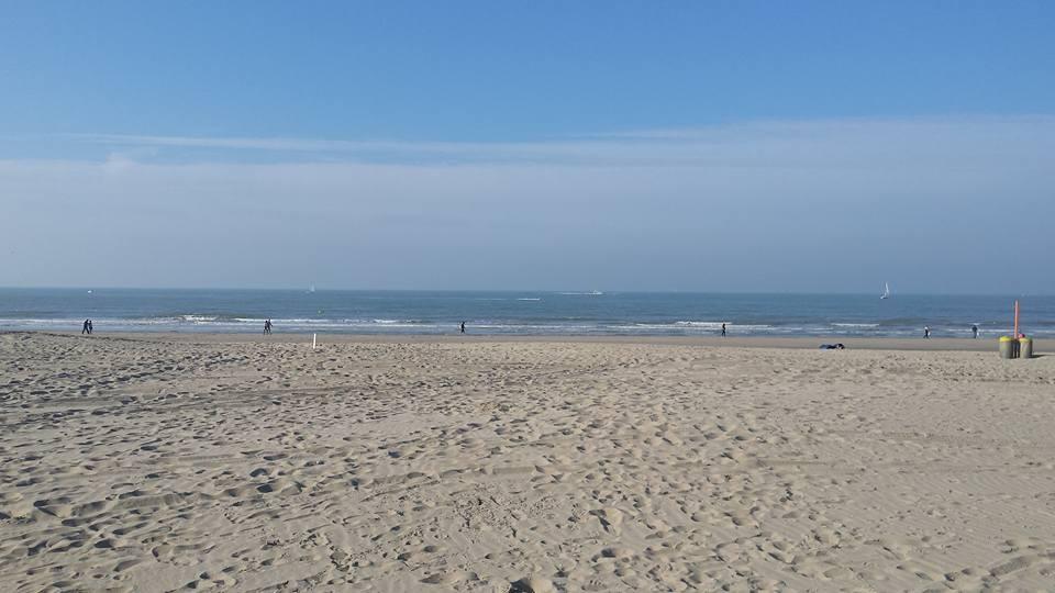 La plage à Blankenberge
