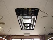 エアコン室内機取付工事