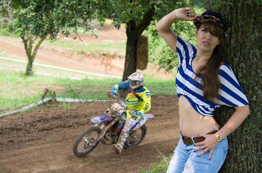 Actionshoot mit meinem Model CW beim Goldbach XCC Cross Country 2016