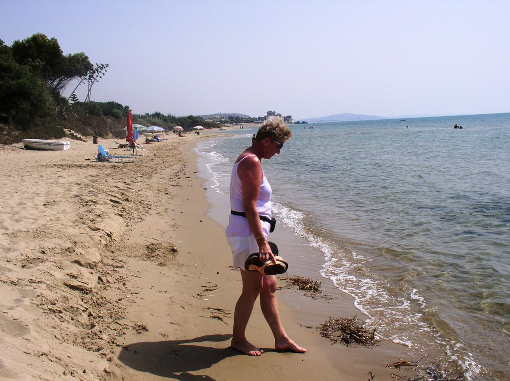 Strand vom CP Due Rocche Eurocamping