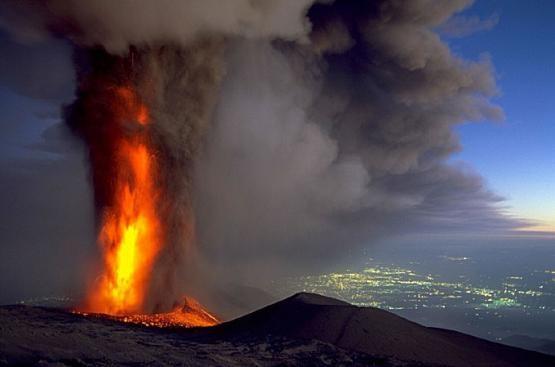 Etna im Mai 2007