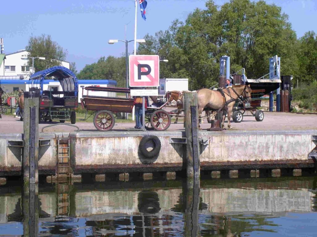 Hafen von Kloster.
