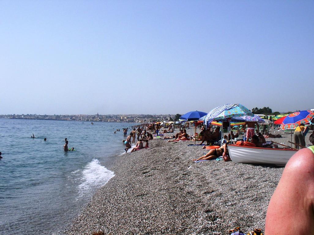 Strand von La Zagara