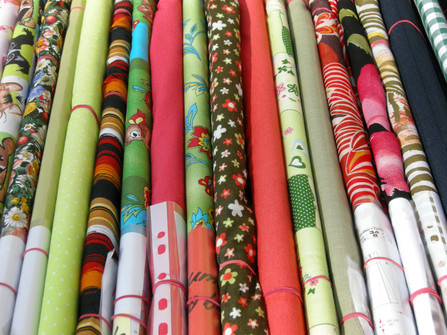Ealing Fabrics and Haberdashery London sells curtain materials on sale