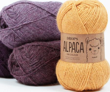 Alpaca Wolle, Naturgarn aus Peru