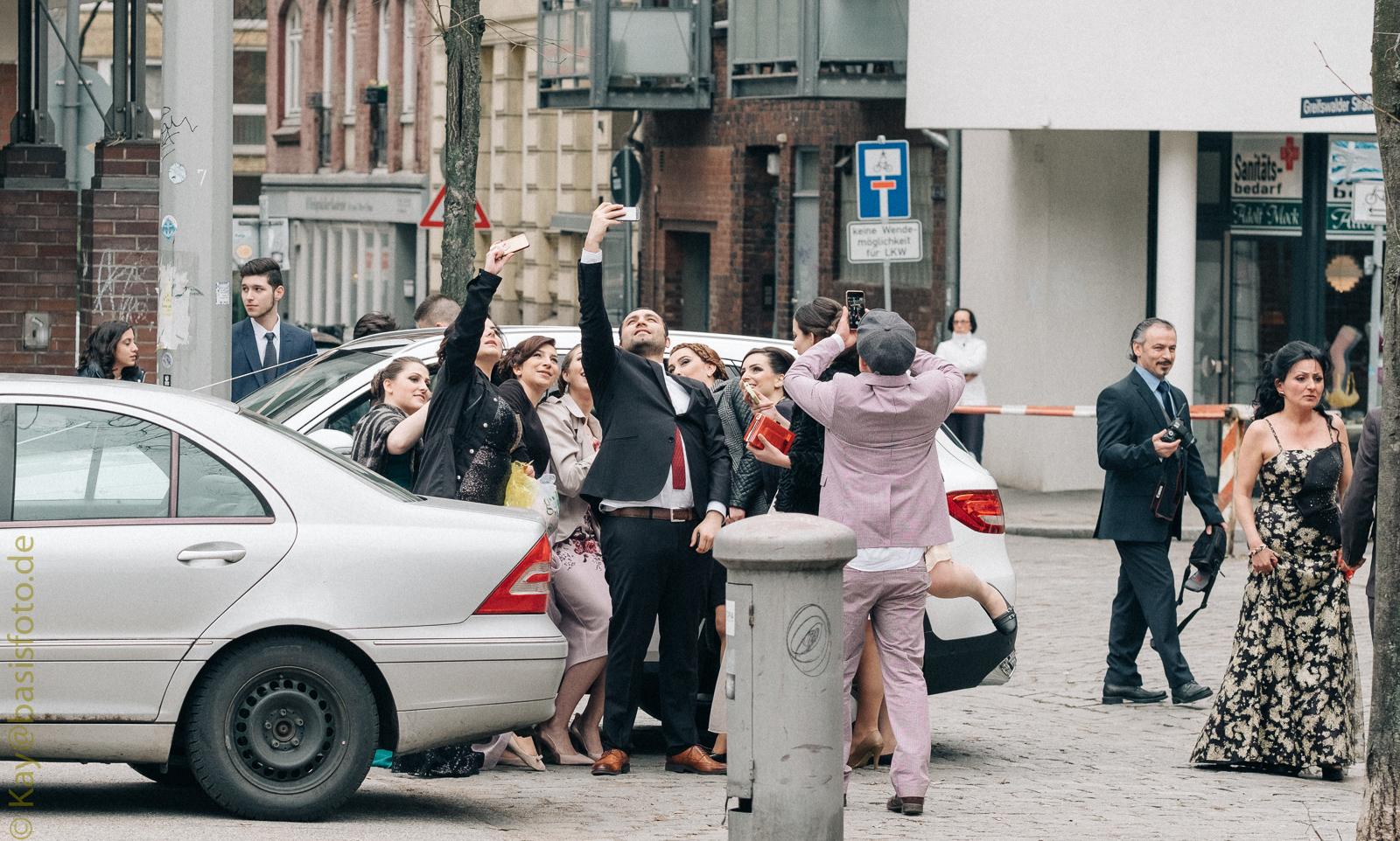 Hochzeit in St. Georg, Hamburg