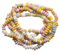 collier de bonbons 0,50 €