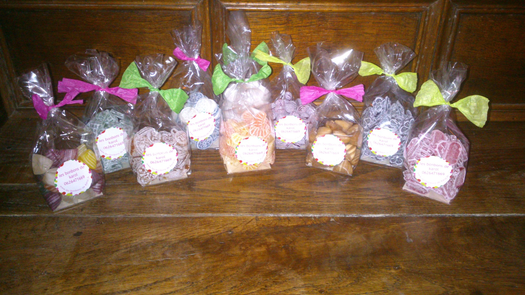 les bonbons d'antan aux arômes naturels (sachet de 100 gr) 3 €