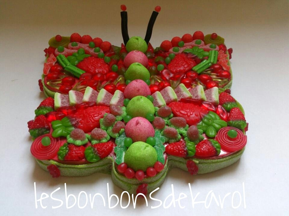 PAP' ROUVERT 35 € (900 gr et 148 bonbons diam 43 cm