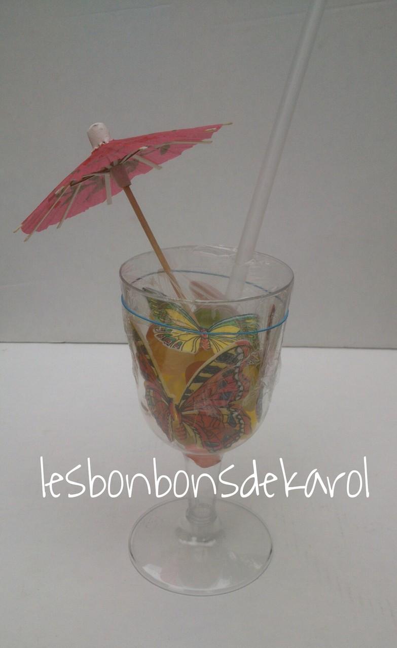 COUPE de FRUITS sans sucre (aspartame)